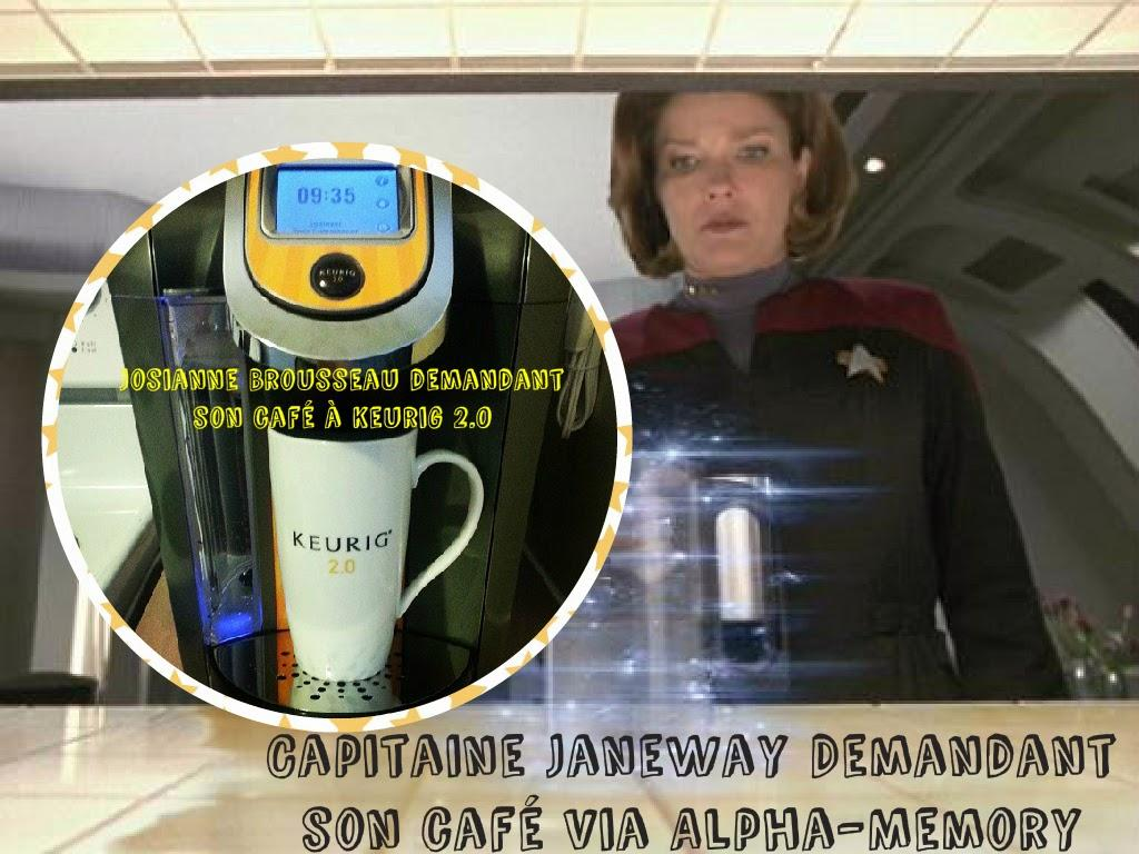 #Keurig2point0: Star Trek prédit l'avenir depuis 1966 #InfusezUneTasse #Keuriginnovation