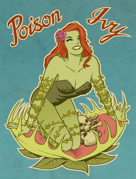 Poison Ivy par Cliff Chiang