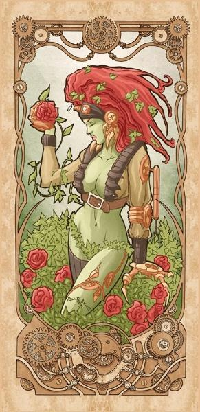 Poison Ivy par Luca Maresca