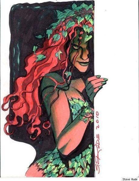 Poison Ivy par Steve Rude