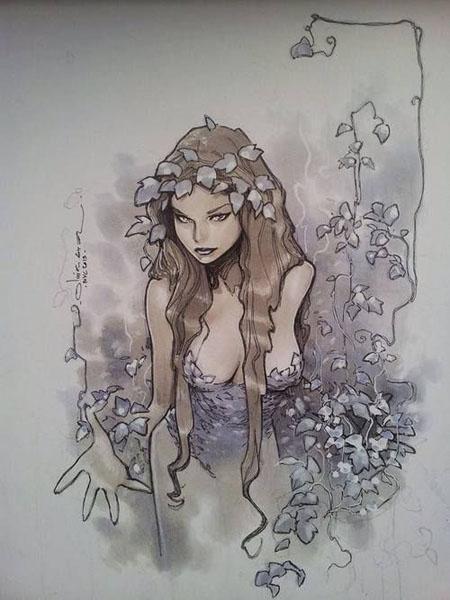 Poison Ivy par Olivier Coipel