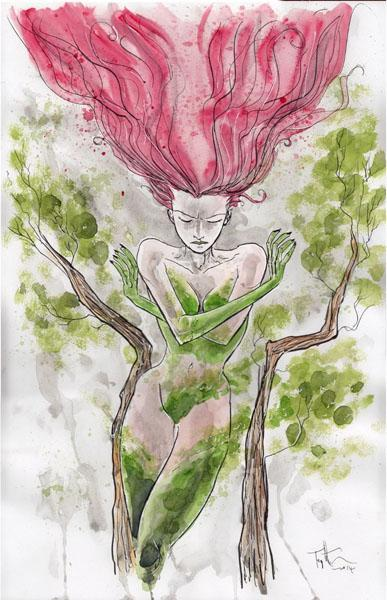 Poison Ivy par Ben Templesmith