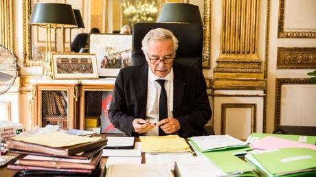 François Hollande au ministère du Travail le mardi 30 septembre 2014 | Photo Jonas Jacquel