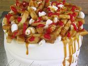 Gâteau poutine