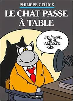 Geluck passe à table