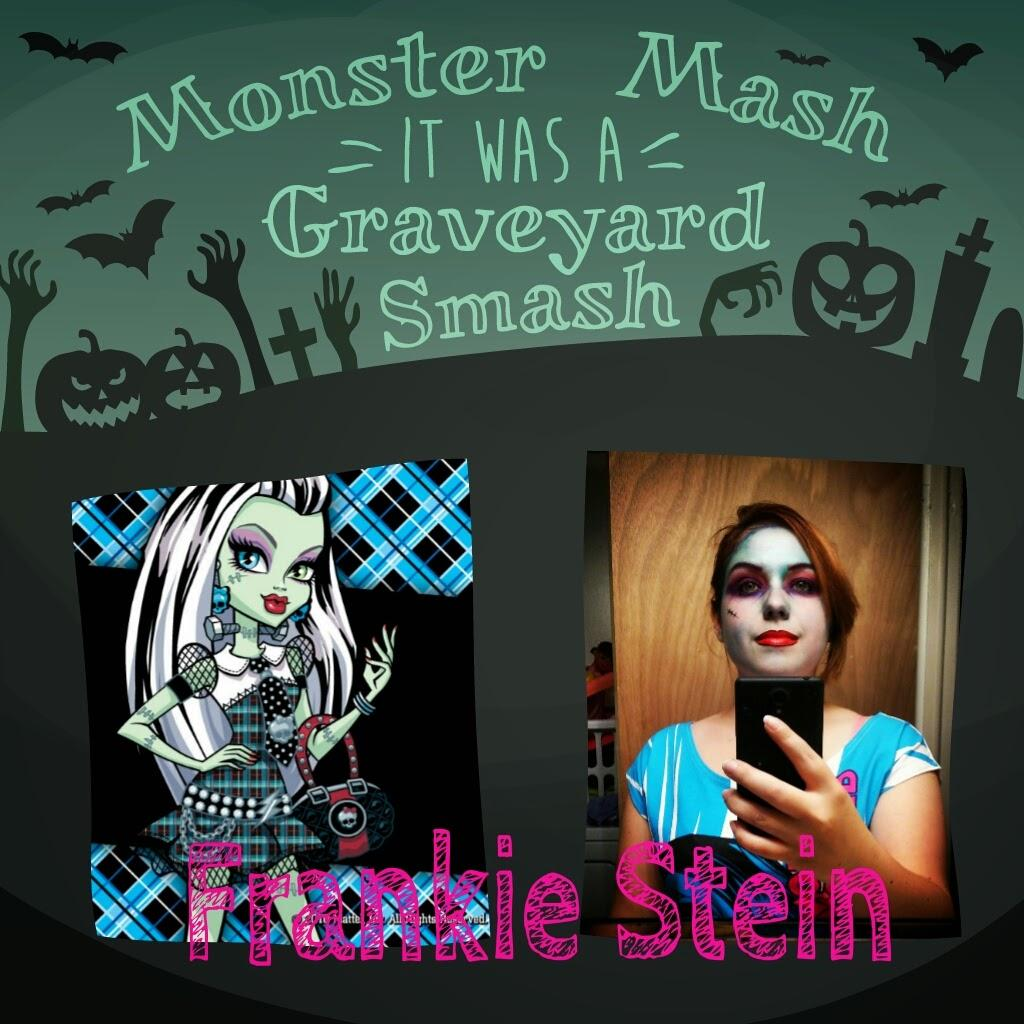 Maquillage Halloween: Abbey Bominable et Frankie Stein #MonsterHigh