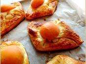 Brioches feuilletées l'abricot
