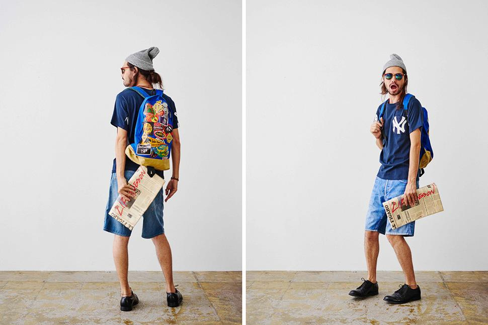 TALKING ABOUT THE ABSTRACTION – S/S 2015 COLLECTION LOOKBOOK