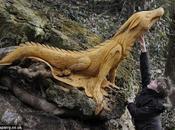 Tommy Craggs, sculpteur troncs d'arbres