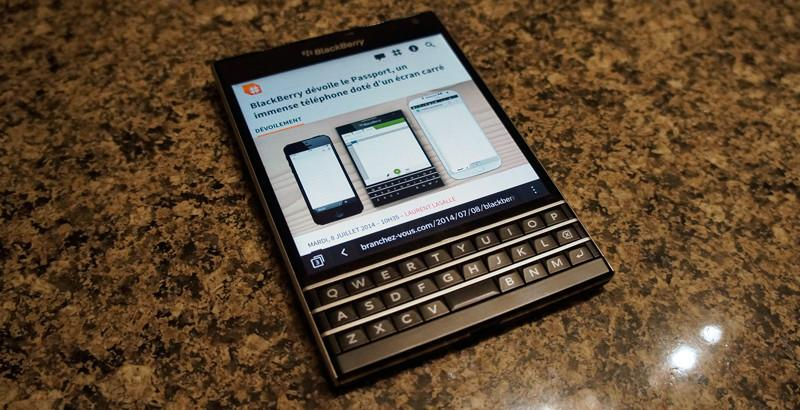 Le Passport de BlackBerry