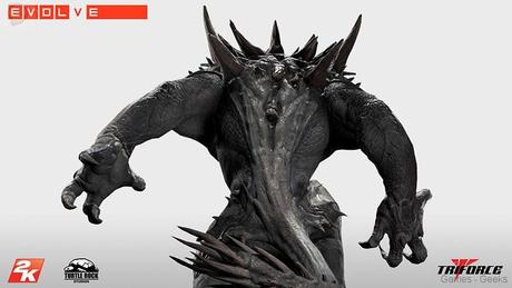 Evolve Goliath Monstre TriForce statuette 03 Figurine : Découvrez Goliath dEvolve  figurine Evolve