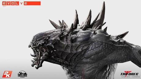 Evolve Goliath Monstre TriForce statuette 04 Figurine : Découvrez Goliath dEvolve  figurine Evolve