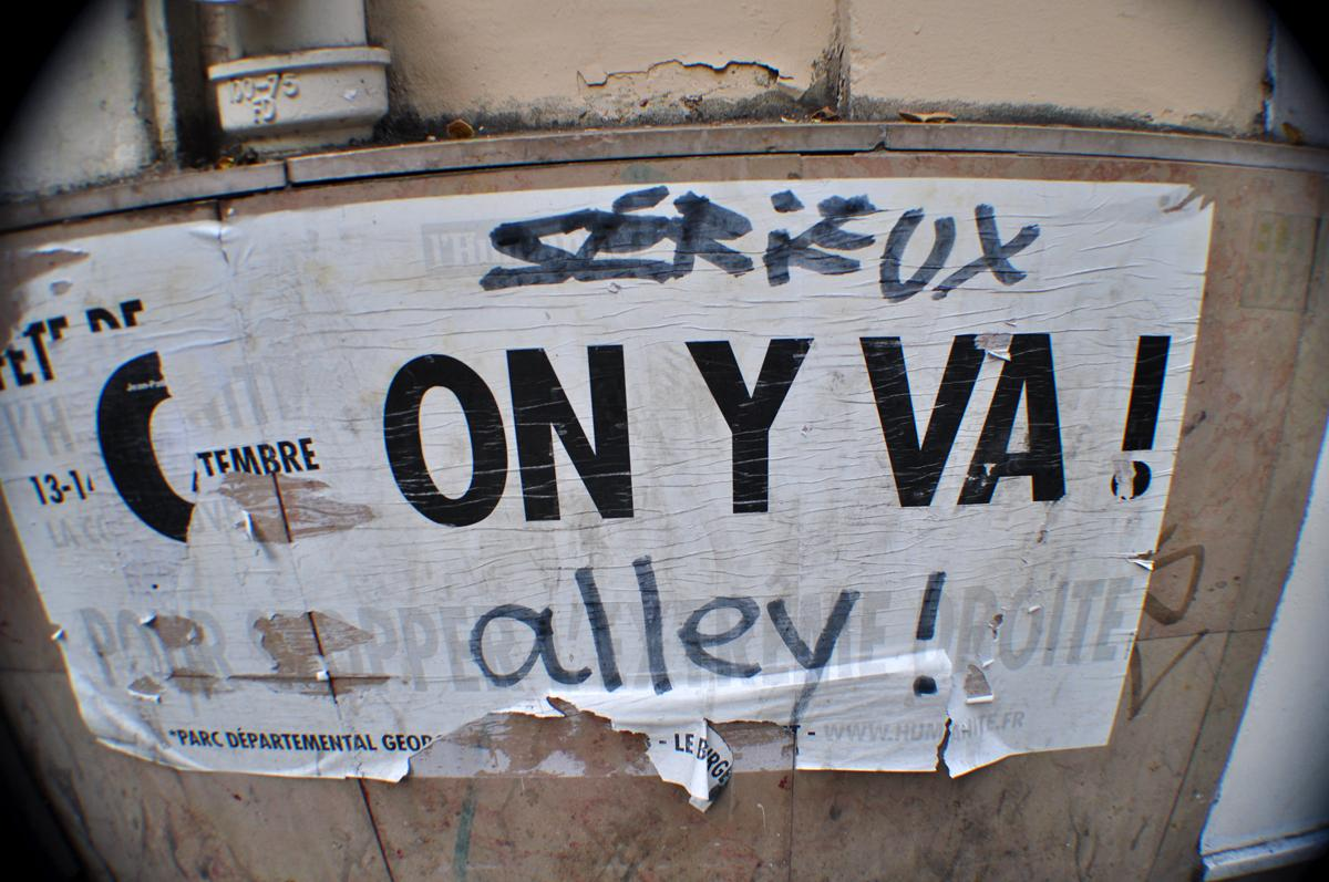 Sérieux ON Y VA ! alley !
