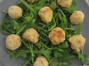 Croquettes pommes terre roquefort jambon