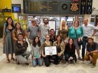 Des blogueurs en gare de Saint-Raphael