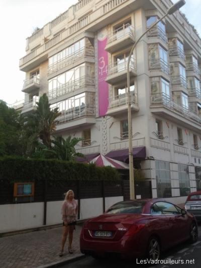 La devanture de l'hôtel 314CANNES