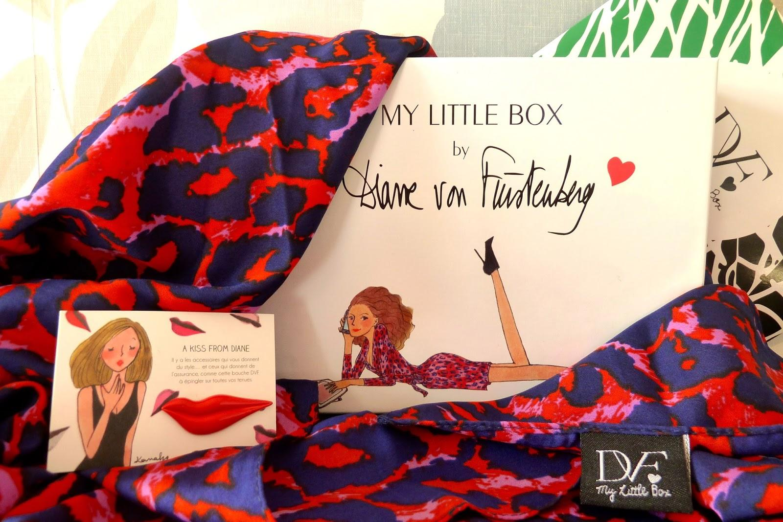 My Little Box by Diane Von Furstenberg - Octobre 2014