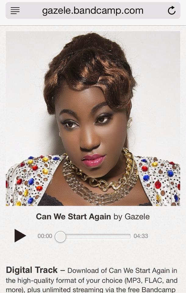 Gazele Sings : Can We Start Again