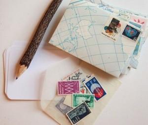Écrire des cartes ou des lettres à son/sa boyfriend/girlfriend