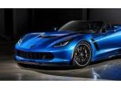 Chevrolet Corvette 2015 retour piste