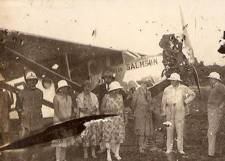 1er vol vers la Réunion par Marcel Goulette