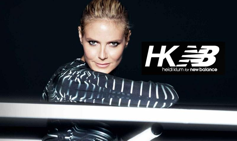 Heidi Klum x New Balance, collection automne/hiver 2014