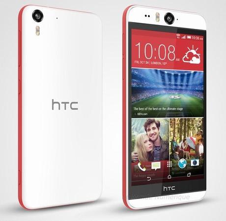Nouveau smartphone HTC Desire Eye, le champion des selfies