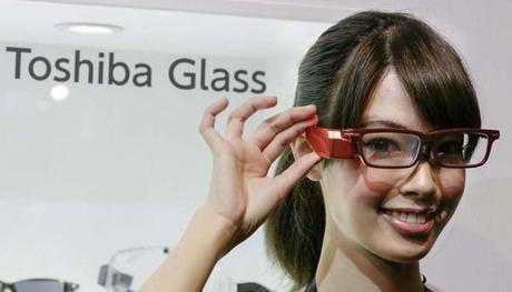 Un prototype Toshiba pour concurrencer les Google Glass