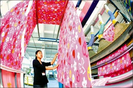 industrie textile chine