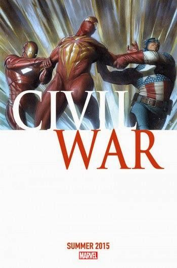 LA GUERRE CIVILE REVIENT. CIVIL WAR DOUBLE SIZED