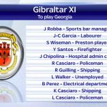 Gibraltar, une sélection de professionnels…mais pas de foot