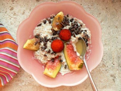 Porridge sarrasin pois fèves