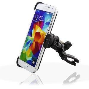 IDACA Support Voiture Fixation Grille Ventilation pour 2014 Neuf Samsung Galaxy S5 G900  -Le Support Voiture garde votre Samsung galaxy S5 en vue et à votre portée tout le temps.  -Peut être utilisé dans de nombreux angles différents, ce qui rend fac...