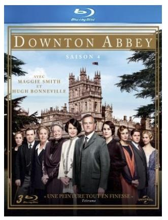 downton abbey saison cover bluray Downton Abbey, Saison 4 en DVD & Blu ray [Concours Inside]