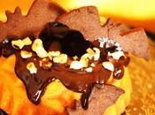 Bundt cake potimarron, noisette, chocolat #Halloween