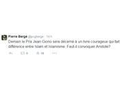 Fouad Laoui, Prix Jean Giono