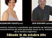 Jacqueline Sigaut Pepo Ogivieki continuent l'hommage Troilo Salta Resto l'affiche]
