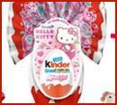 Kinder Maxi surprise Hello Kitty