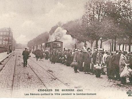 Garde du CBR de Reims // Le CBR à Epernay // le CBR devant la gare d'Aÿ
