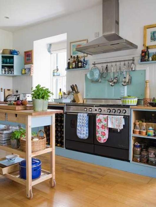 Sehr 25 idées de cuisine bleue ! - Paperblog KZ93
