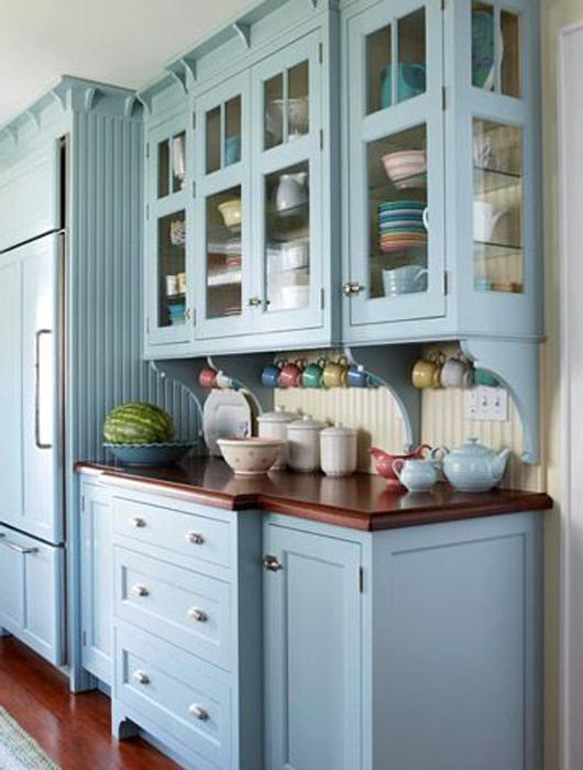 Relativ 25 idées de cuisine bleue ! - Paperblog GM86