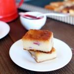 gateau semoule vanille framboises 150x150 Gâteau fondant aux pommes : linvisible
