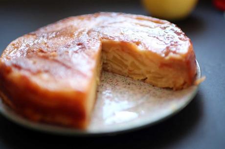 gateau pommes 1024x682 Gâteau fondant aux pommes : linvisible