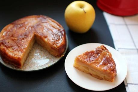 gateau fondant pommes 1024x682 Gâteau fondant aux pommes : linvisible
