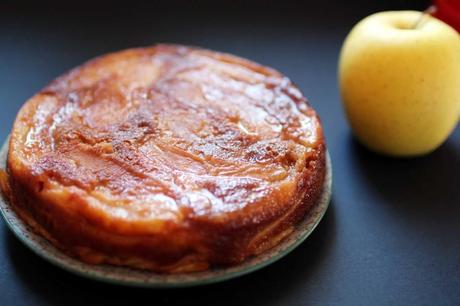 gateau invisible pommes 1024x682 Gâteau fondant aux pommes : linvisible