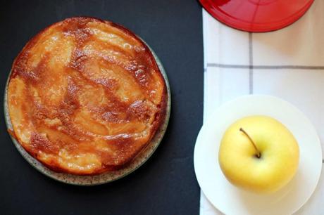 gateau renverse pommes1 1024x682 Gâteau fondant aux pommes : linvisible
