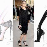 SHOES : Olivia Palermo X Aquazzura