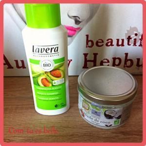 cheveux bio huile coco shampooing lavera