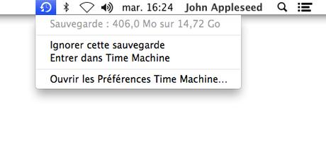 Comment utiliser Time Machine