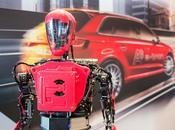 robot humanoïde d'événement, vecteur d'images technologiques compétences